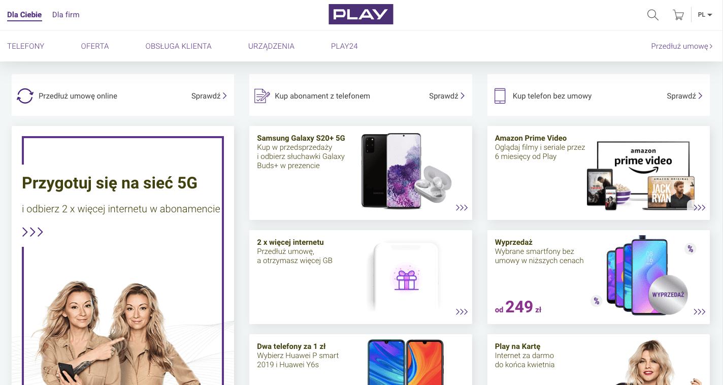 simlock w sieci play