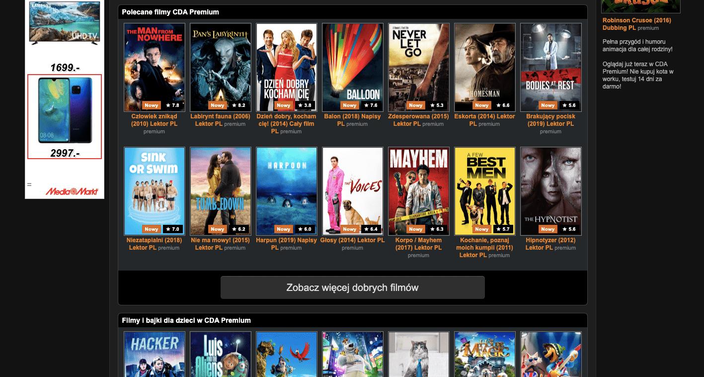 filmy online bez logowania cda pl