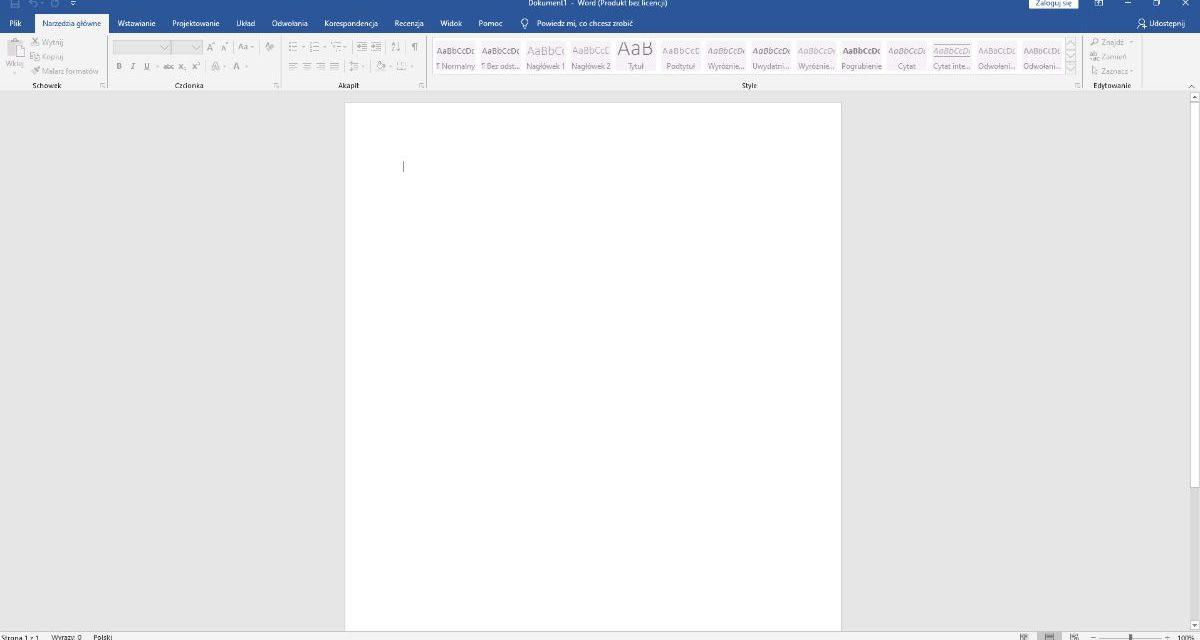 Jak usunąć pustą stronę w wordzie? Prosta instrkucja