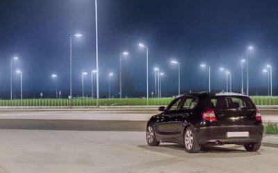 Lampa LED uliczna do energooszczędnego oświetlenia